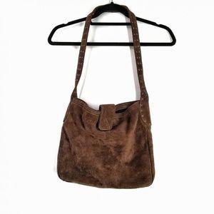Gap 2001 brown Suede satchel medium Bag